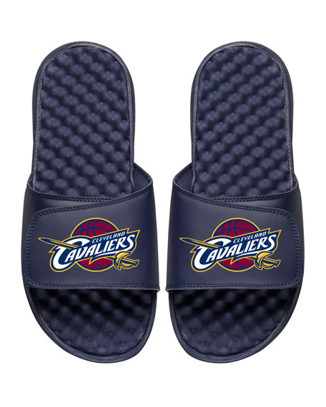 ISlide Men's NBA Cleveland Cavaliers Primary Slide Sandals,