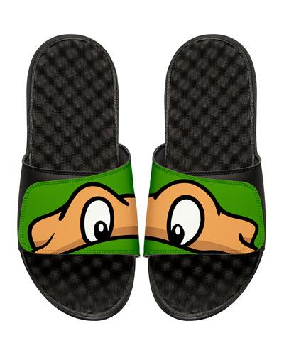 Men's Teenage Mutant Ninja Turtles Michelangelo Slide Sandals