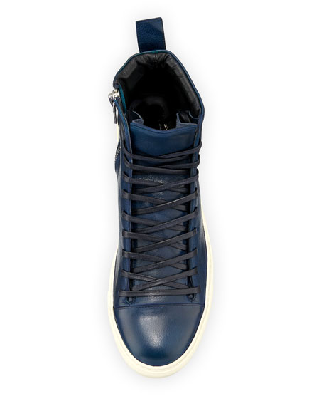 Men's 315 Reed Leather Mid-Top Sneakers