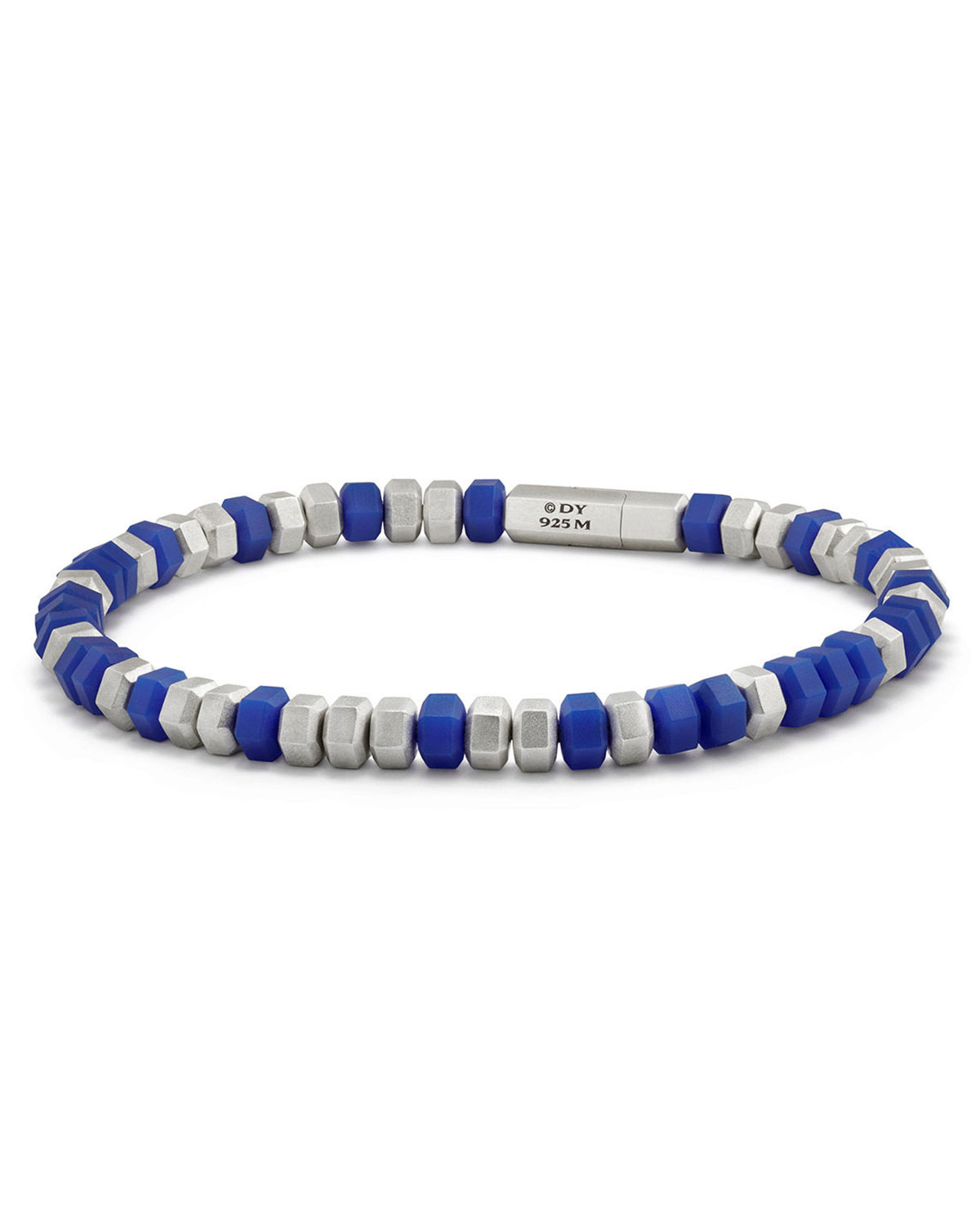 Men S Hex Bead Bracelet
