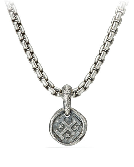 David Yurman Men's Shipwreck Coin Pendant Enhancer