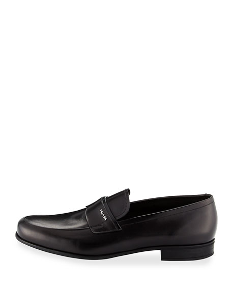 Calf Leather Slip-On Loafer