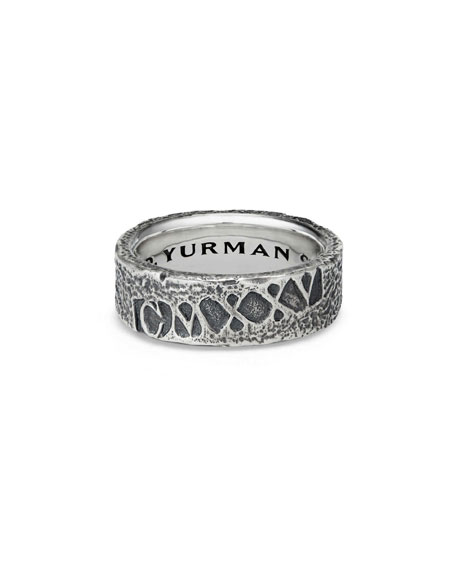 David Yurman Men's Shipwreck Band Ring, 8mm