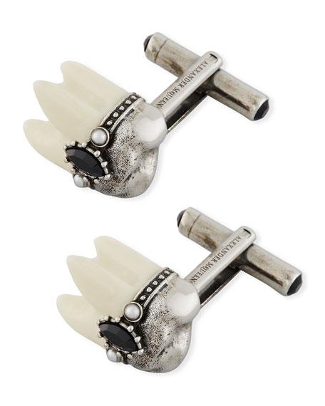 Alexander McQueen Tooth Cuff Links