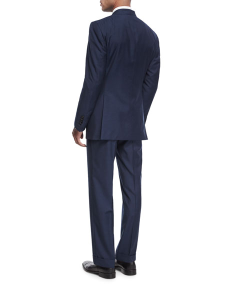 Windsor Base Micro-Pinpoint Two-Piece Suit