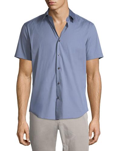 Sylvain S Wealth Short-Sleeve Shirt