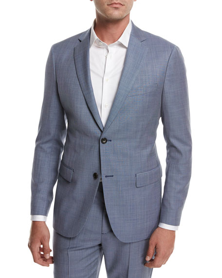 Rodolf N HL Cross-Stitch Suiting Jacket, Blue
