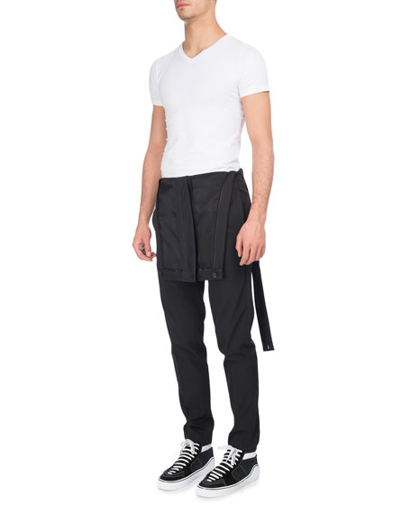 Givenchy Virgin Wool-Polyester Overalls