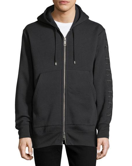 Lestford Oversized Zip-Front Hoodie