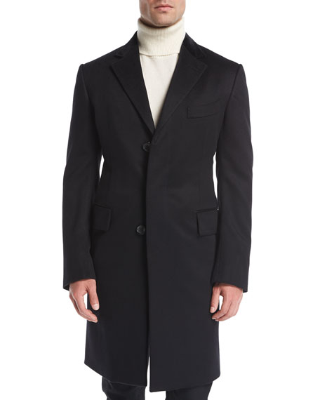 Cashmere Chesterfield Coat