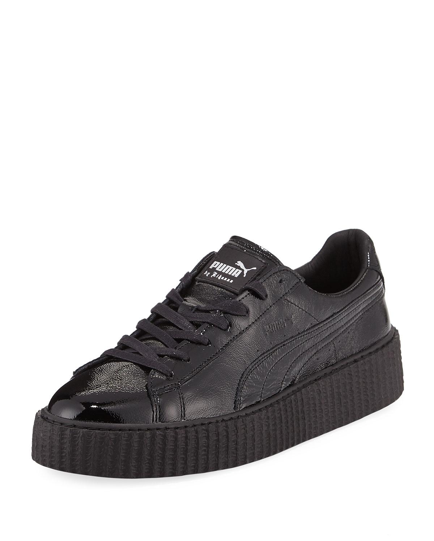 fc4fe01e99fe Puma x Fenty Puma by Rihanna Men s Cracked Leather Creeper Sneaker ...