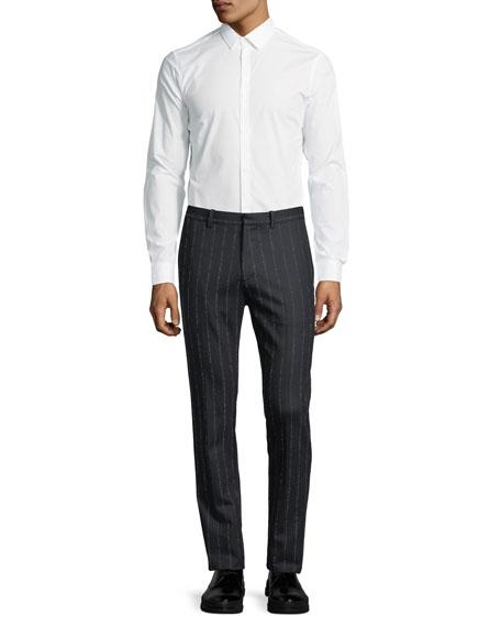 Zaine TT Wool-Blend Striped Pants
