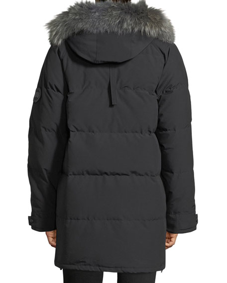Emory Down Parka with Fur-Trim Hood