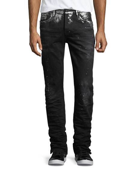 PRPS Demon Paint-Splatter Slim-Straight Jeans and Matching Items