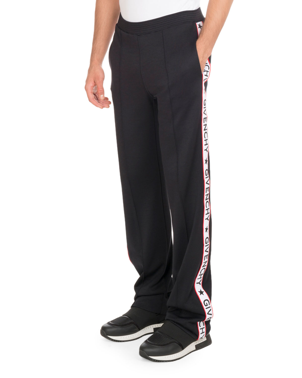9ee08a6e1291 Givenchy Track Pants with Logo Taping