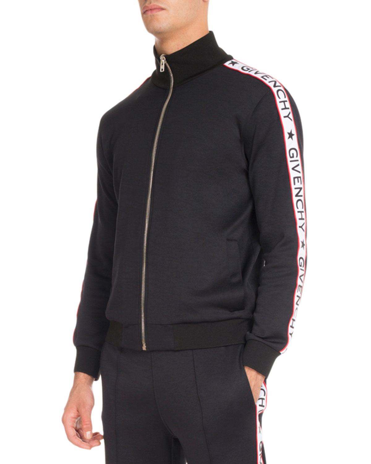 e08909a52234 Givenchy Track Jacket with Logo Taping
