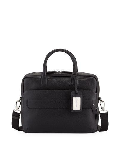 Caviar Leather Briefcase