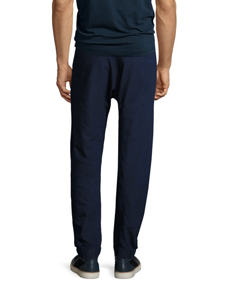 Bronson Tapered Cuffed Pants, Navy