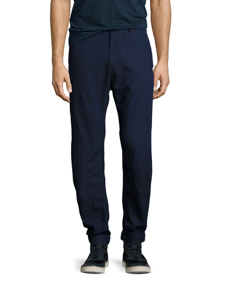 G-Star Bronson Tapered Cuffed Pants, Navy