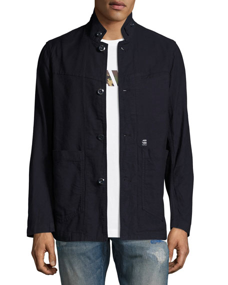 G-Star Bronson Canvas Blazer, Dark Aged