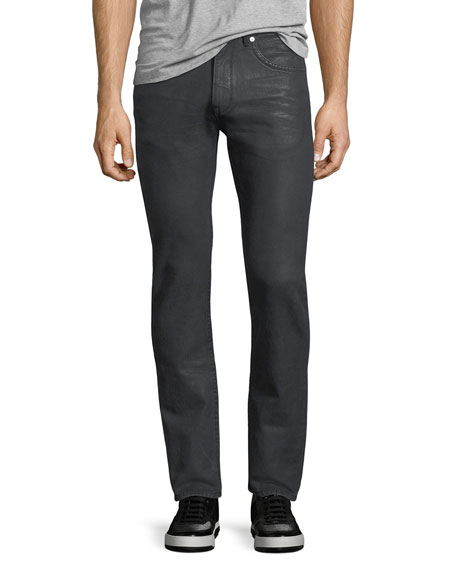 Helmut Lang Mr. 87 Coated Slim-Fit Jeans