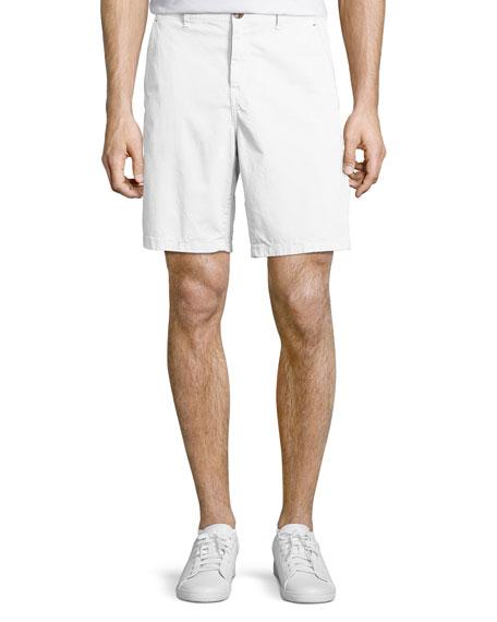Michael Kors Stretch Chino Shorts, White