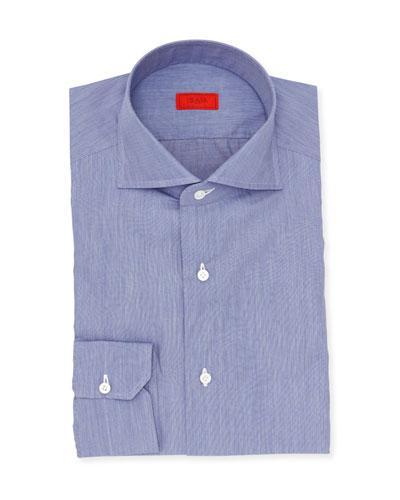 Chambray Cotton Dress Shirt