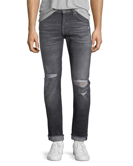 7 For All Mankind Paxtyn Blot Blowout Skinny