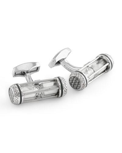 Hourglass Cuff Links