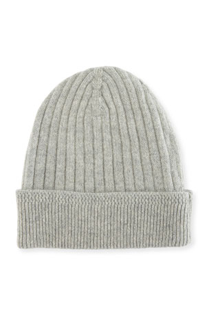 TOM FORD Ribbed Cashmere Beanie Hat
