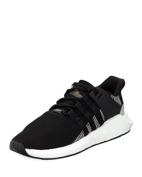 Adidas Men's EQT Support ADV Trainer Sneaker, Black