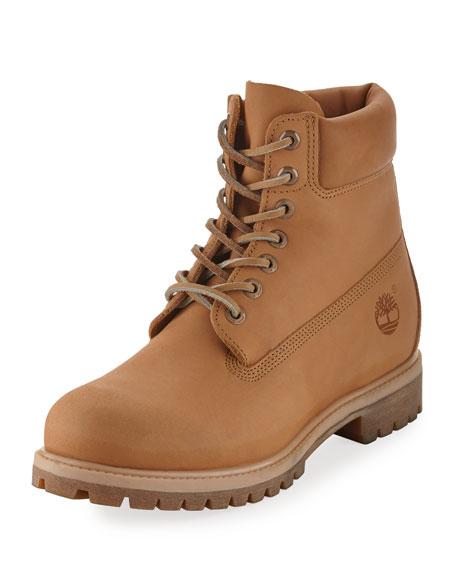 "6"" Premium Waterproof Hiking Boot, Beige"