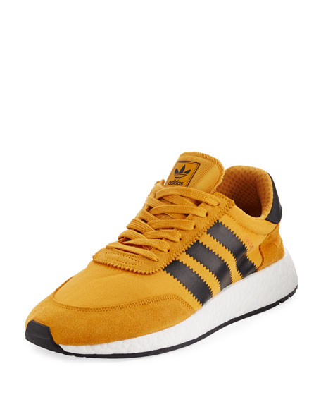 Adidas Men's Iniki Running Shoe, Yellow