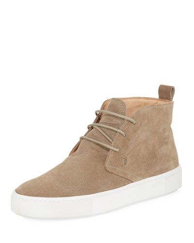 Casetta Suede High-Top Chukka Sneaker