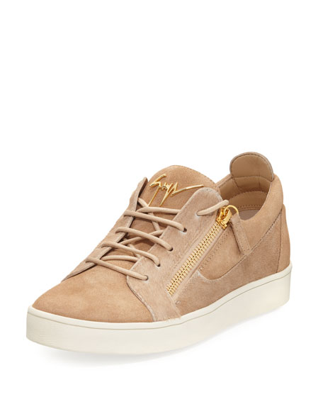 Giuseppe Zanotti Men's Suede & Calf Hair Double-Zip