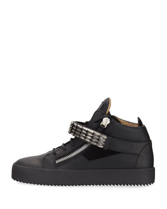14825ceb5c073 Giuseppe Zanotti Men's Signature Leather Logo Belt and Matching Items & Matching  Items | Neiman Marcus