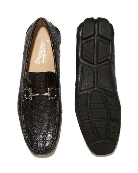 Crocodile Gancini Driver, Black