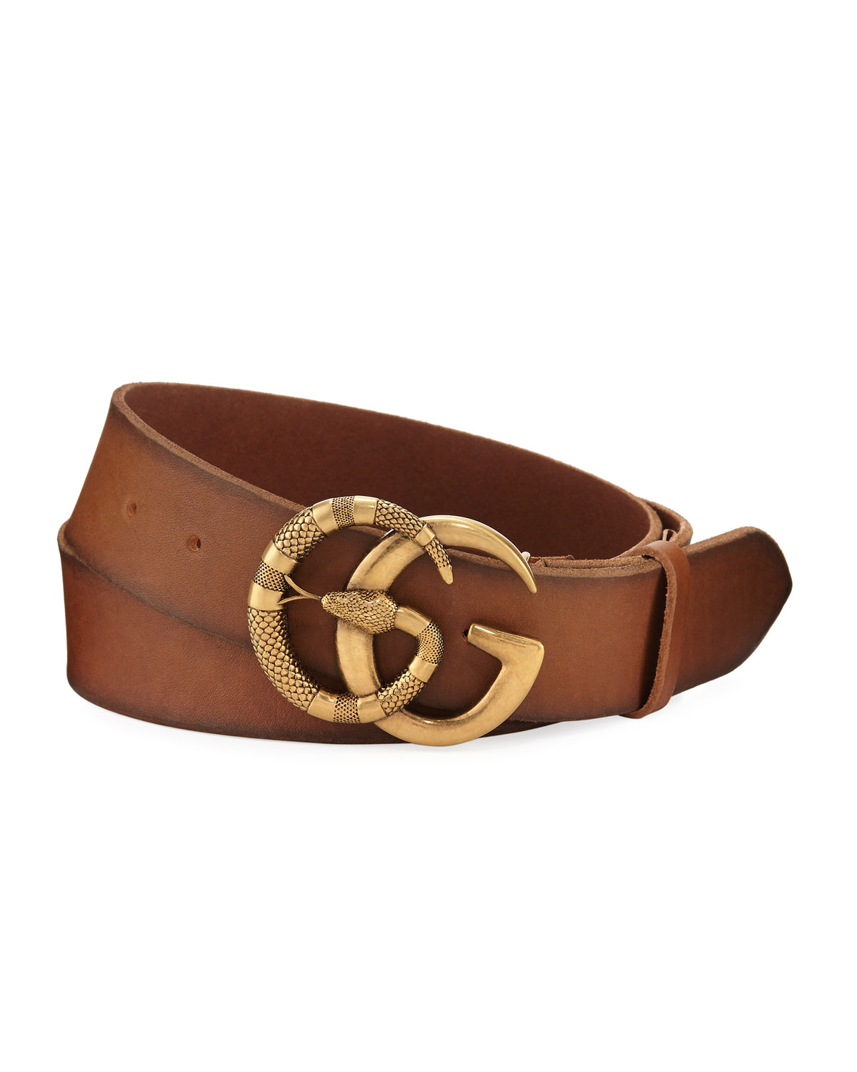 ab8595cf349 Gucci Cuoio Toscano Snake GG Belt