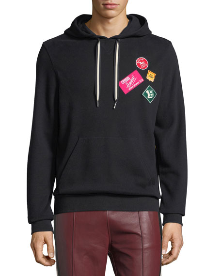 Bally Travel Patch Sweatshirt Hoodie