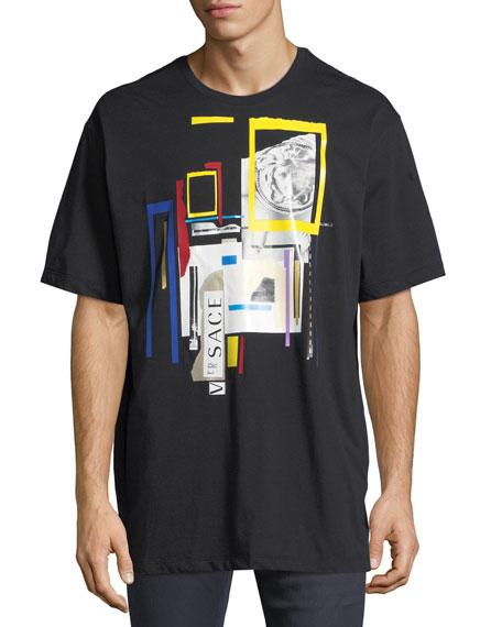 Versace Laszlo Collage T-Shirt