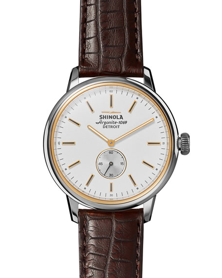 Shinola 42mm Bedrock Chronograph Watch