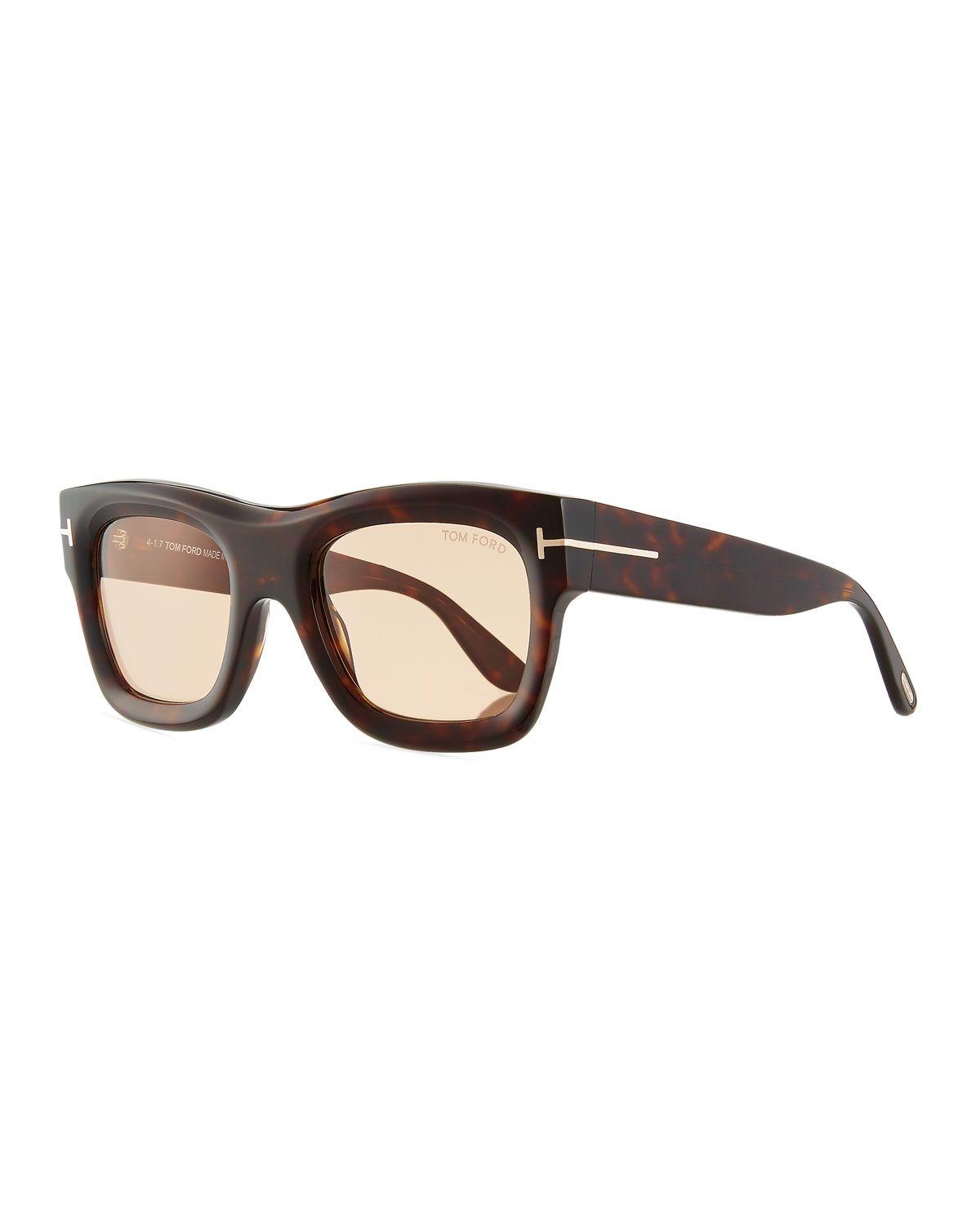 661d09079c0a TOM FORD Wagner Thick Square Sunglasses