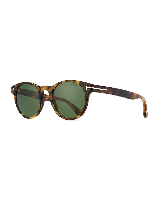 315f7fd4393f7 TOM FORD Palmer Round Acetate Sunglasses