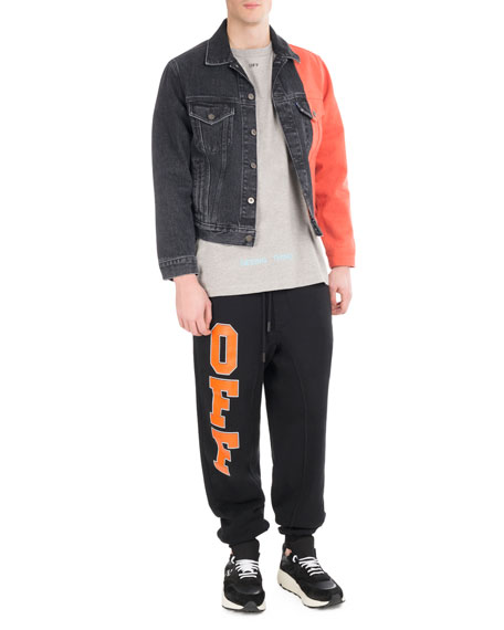 Off Collegiate Cotton Sweatpants