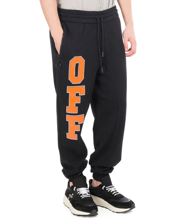 Off-White Off Collegiate Cotton Sweatpants  8fec8ac59
