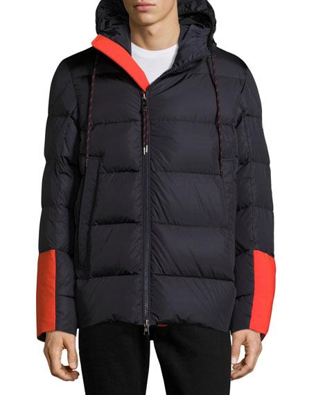 Moncler Drake Colorblock Down Jacket