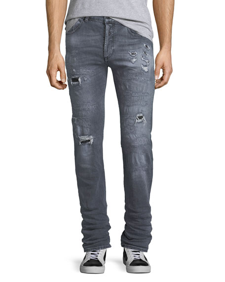 Gya Regular-Fit Distressed Jeans