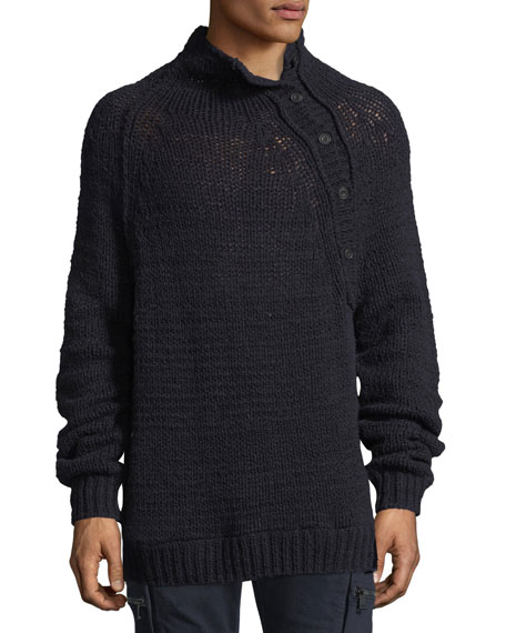 Vince Open-Knit Mock-Neck Sweater and Matching Items