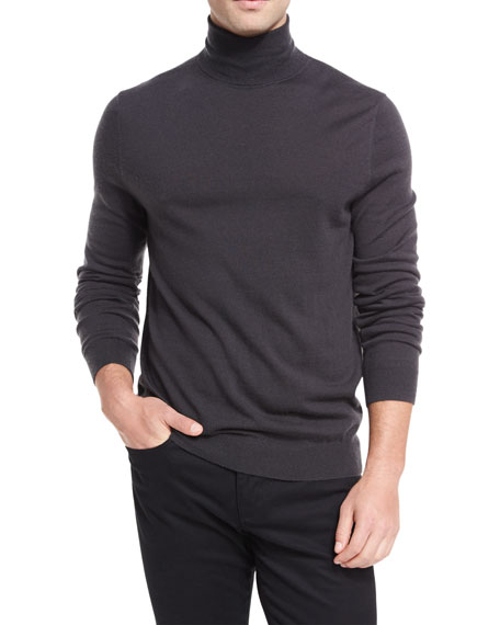 Vince Wool-Cashmere Turtleneck Sweater and Matching Items