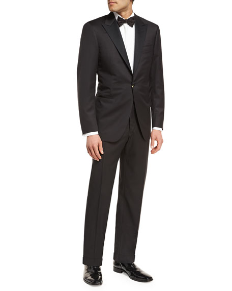 Canali Wool Two-Piece Tuxedo Suit